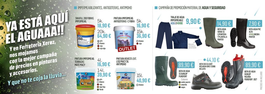 Ofertas de calzado profesional en Ferretería Xerez.