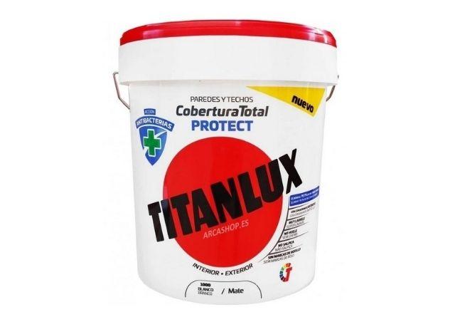 Titan tiene una pintura antibacteriana perfecta para los arreglos de pintura de una casa