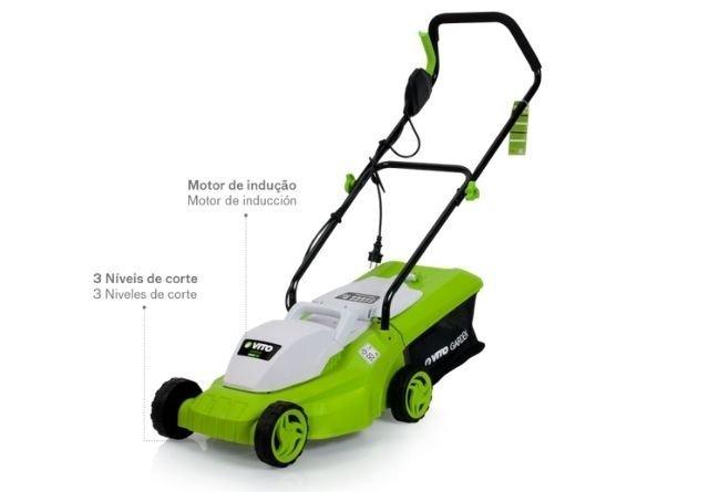 Un cortacésped eléctrico es ideal para los trabajos de reparación en el jardín