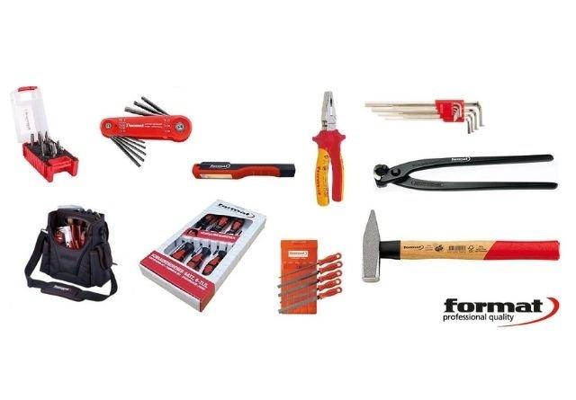 La firma Format tiene una gran variedad de herramientas para reparaciones del hogar