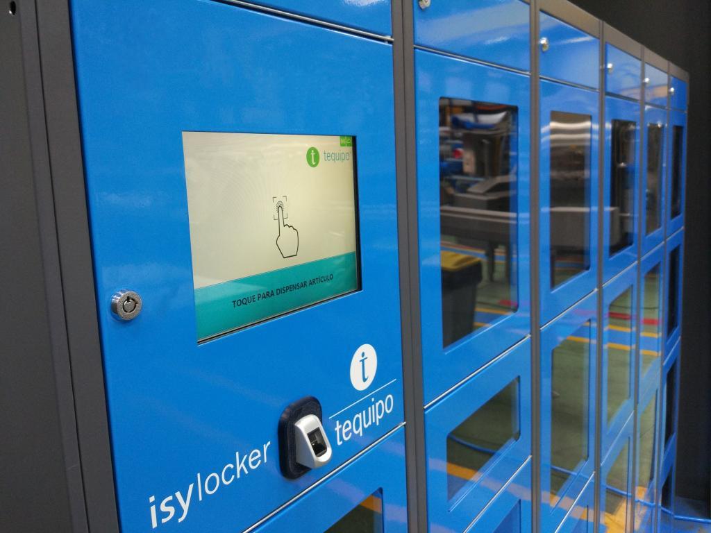 Easylocker es un sistema de armarios automatizados para la gestión del almacén