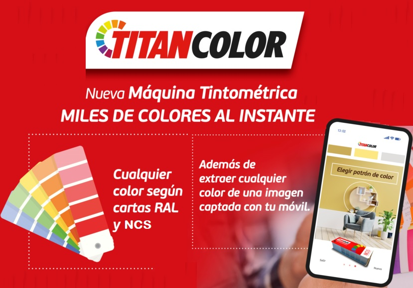 Titancolor, el nuevo servicio de pintura personalizada de Ferretería Xerez.